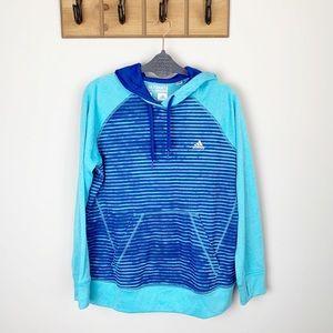 Women's Adidas Blue Hoodie